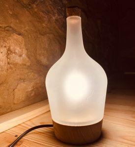 Lampa z demižónu
